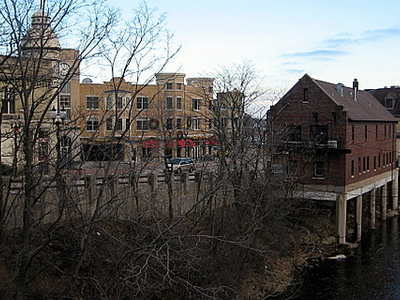 Village Of Wauwatosa Along The Banks Of The Menomonee River