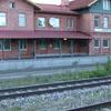 Vingker Railway Station