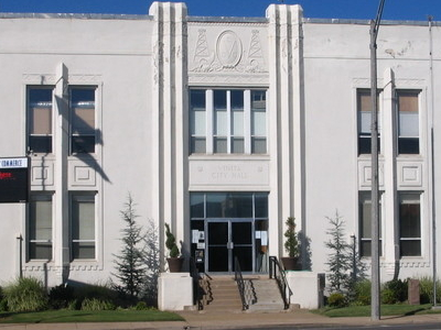 Vinita  O K  City  Hall