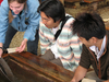 Visitors Are Shown How To Pan For Gold At El Dorado Gold Mine.