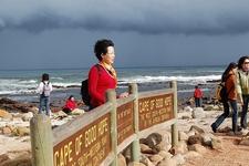 Visitors At Cape Of Good Hope SA