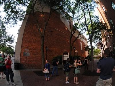 Visitors At Downtown York - Pennsylvania