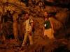 Visitors Inside Grutas De Lanquin Cave
