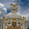 Visitors Throng The Shanti Stupa