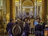 Visitors - Vatican Museum Rome