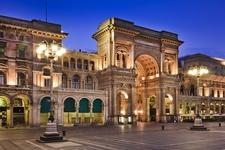 Vittorio Emmanuel Passage Luxury Shopping Mall - Milano