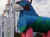 Horstacio, The World's Largest Piñata