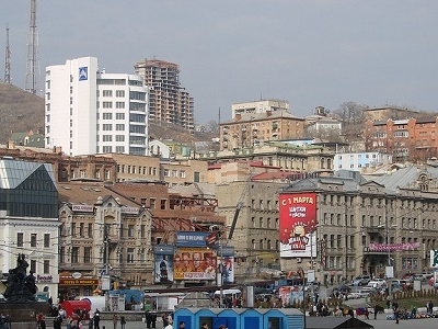 Vladivostok City Waterfront