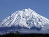 Volcano On The Kamchatka Peninsula