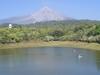 Volcano As Seen From Carrizalillo Lagoon