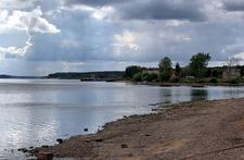 Volga River Near Myshkin Town In Russia