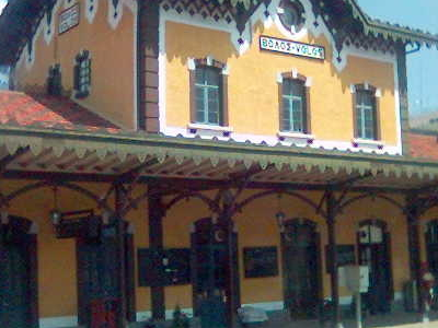 The Railway Station Of Volos