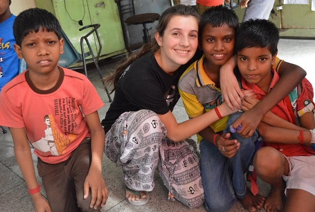 Volunteer With Orphan and Kidnapped Children Photos