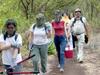 Volunteers Working Along The Coastal Prairie Trail