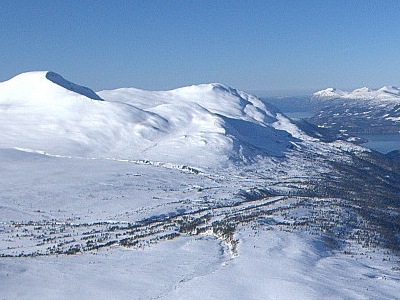Vassnebba Seen From The Foot Of Snøfjell