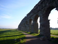 One Of The Aqueducts In The Park
