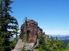 View From The  Lost  Lake  Trail In The  Norse  Peak  Wilderness
