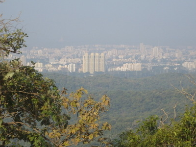 View Of Borivali Skyline