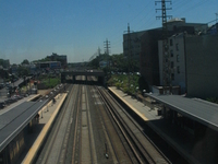 Woodside LIRR estación