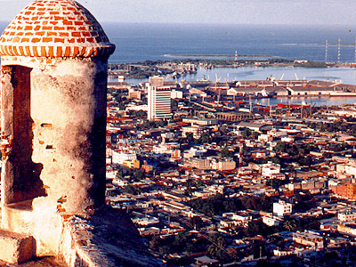 View Of Puerto Cabello From Solano Fortress