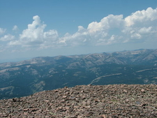 View From Wyoming Peak