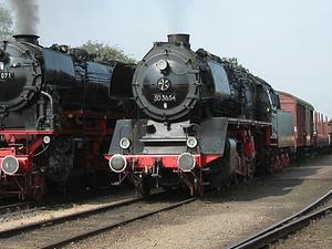 Tren de vapor Veluwsche Empresa