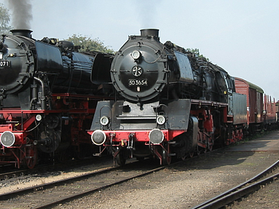 Two German Locomotives Of The VSM