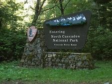 WA Entering North Cascades NP