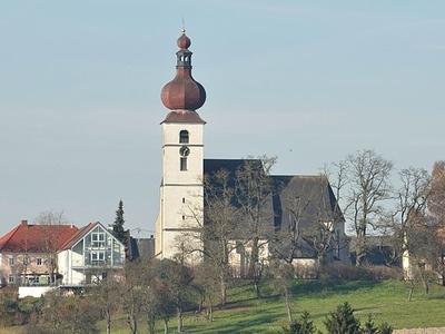 Waldneukirchen Parish Church, Upper Austria, Austria
