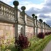 Wall Against The Baroque Garden