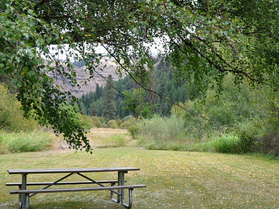 Wallowa River Rest Area