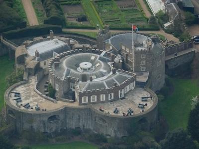 Walmer Castle Aerial