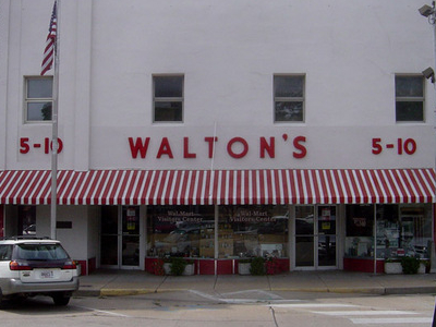 Walton Five And  Dime Store  Bentonville   Arkansas