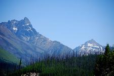 Walton Mountain At Glacier - USA