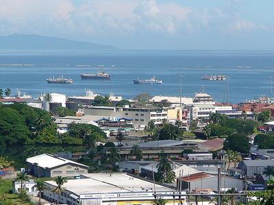 Walu Bay In Suva City
