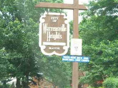 Warrensville Heights Welcome Sign