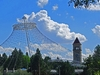 WA Spokane Skyline With Clock Tower