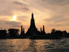 Wat Arun And Sunset