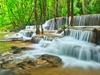 Waterfall In Kanchanaburi Forest