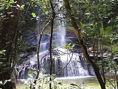 Waterfall  In Pirenópolis