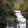 Waterfall In Ricketts Glen State Park - Pennsylvania