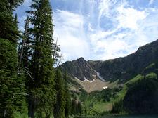 Water Ouzel Trail Views - Glacier - Montana - USA