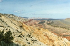 Waterpocket Fold Strike Valley Overlook