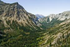 Waterton Valley Trail - Glacier - Montana - USA