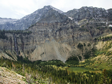 Waterton Valley Trail Views - Glacier - Montana - USA