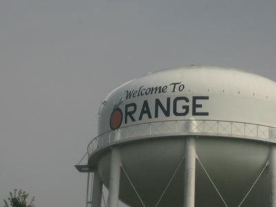 Water Tower In Orange Texas
