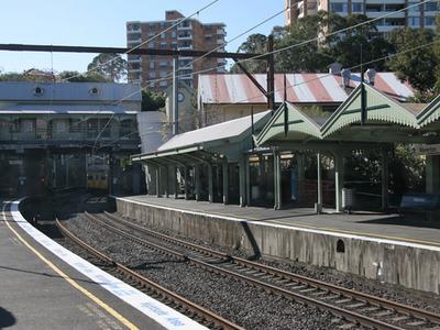 Waverton Railway Station
