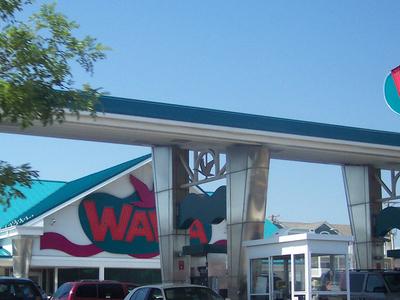 Wawa In  Wildwood  2 C  New  Jersey