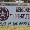 Welcoming Sign In Dilley Texas