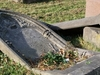 Welford  Road  Cemetery Broken Gravestones